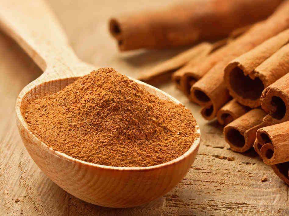 A dash of cinnamon