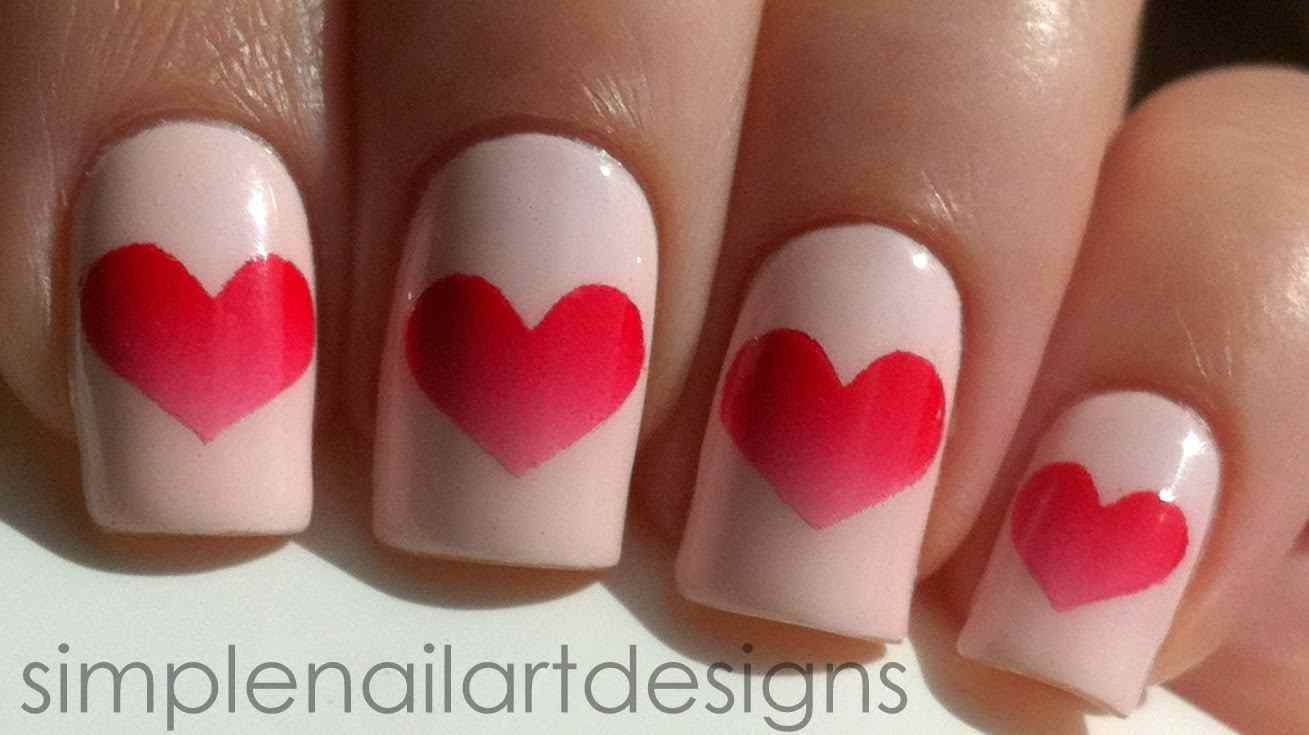 Enjoy Your Beautiful Heart Nails! *Painters Tape isn't as harsh as scotch tape and won't pull off your dry nail polish. *Don't wait until the heart is dry before pulling off tape because it will pull up the polish and leave tacky rough edges.:)