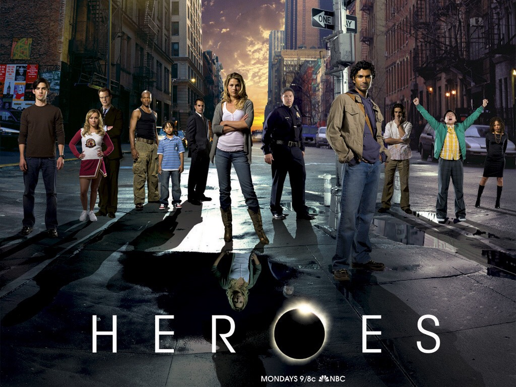 My favourite show. Heroes