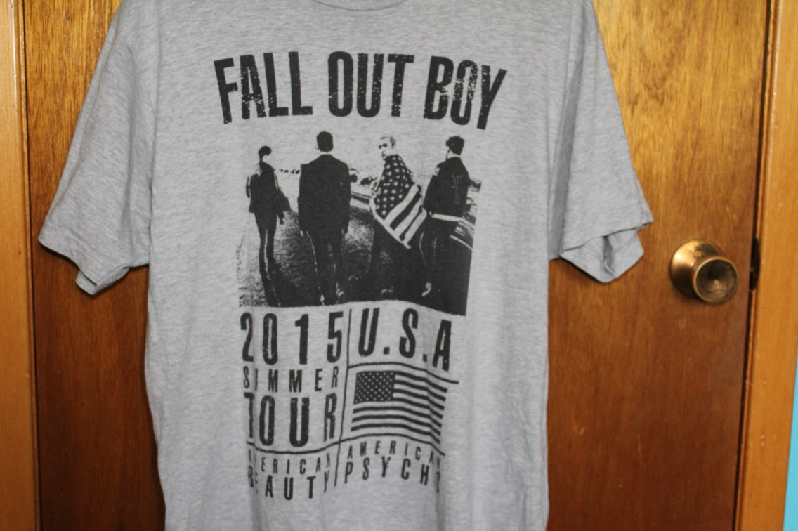Band- Fall Out Boy From- Boys Of Zummer Tour