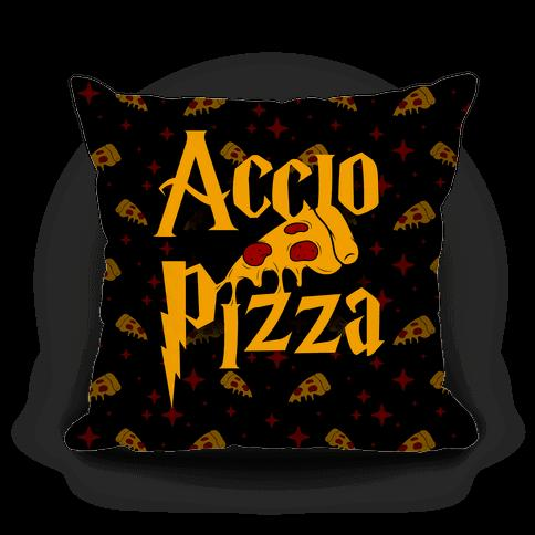 12. A pillow that knows the spell you wish you could cast.