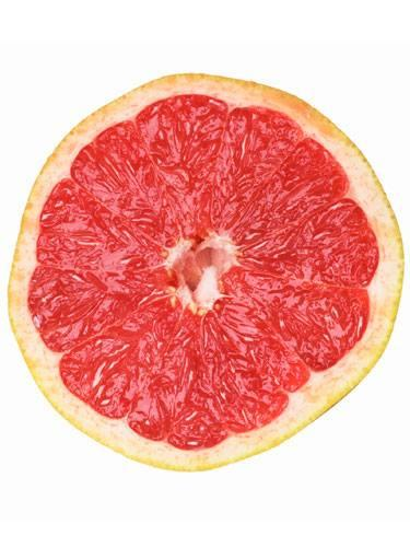Grapefruit has skin-brightening vitamin C, while the egg whites tighten pores and firm skin.