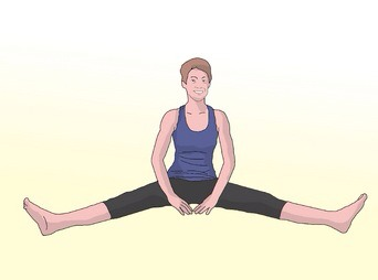 some stretches to help you get flexible  musely