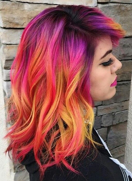 Crazy Hair Colour Ideas Find Your Perfect Hair Style