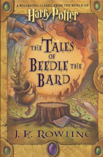 The Tales of Beetle the Bard  https://www.amazon.com/gp/aw/d/0545128285/ref=mp_s_a_1_78?qid=1448853606&sr=8-78&pi=AC_SX110_SY165_QL70&keywords=Harry+Potter+gift&dpPl=1&dpID=51XRioE%2BJAL&ref=plSrch