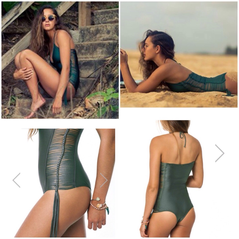 Made by: O'neil (featured in Sports Illustrated swimsuit edition 2015)