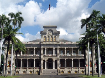 11.) 'Iolani Palace, Hawaii Once the residence of the Hawaiin Royal Family, this palace is now a museum that happens to display a few ghosts. Various royal ghosts have been seen and heard here, with the most frequent sightings revolving around Queen Liliuokalani