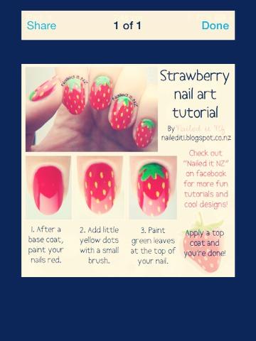 Strawberry nails 🍓💅