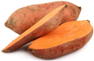 5. Sweet potato  Full of fiber and protein