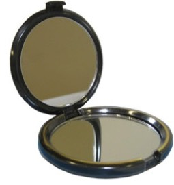 A compact mirror. This will be helpful to check your hair makeup, etc.