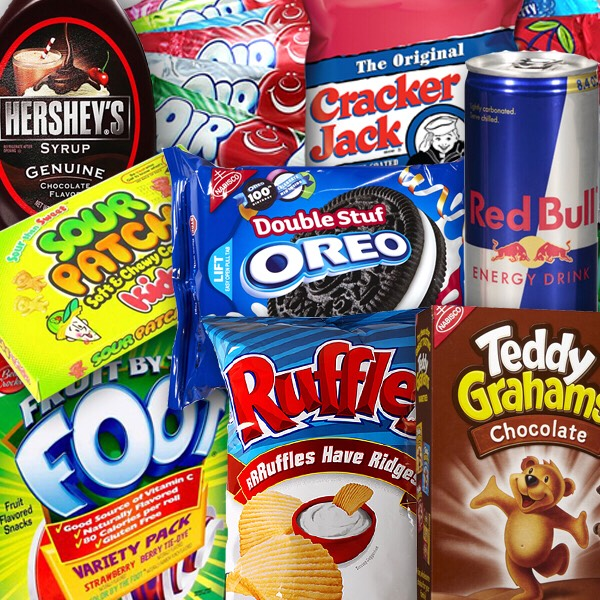 Snacks in case you get hungry.