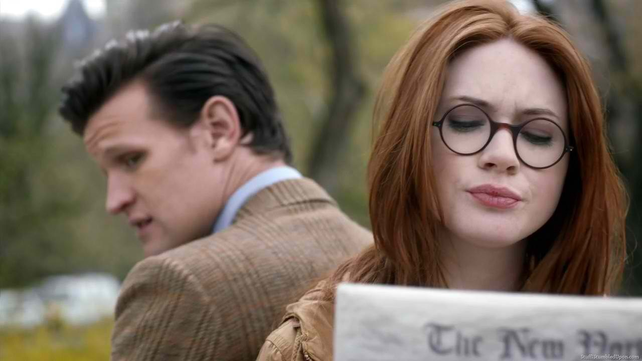 Karen Gillan and Matt Smith are cute. Yes, I'm running out of hair pics. Condition only from your shoulders down. While it sits, wash your body or something.  Washing out conditioner is different. Your hair will NOT be squeaky.  When done, spray with cold water for extra shine and to close cuticles.
