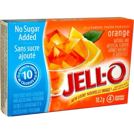 Get some sugar-free jello powder. Doesn't have to be orange you could use any sugar free jello powder but orange tastes like cream-cicle💛
