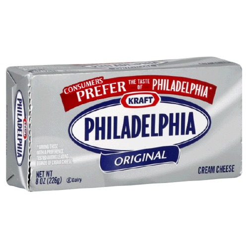 Full fat, low fat, or fat free cream cheese all work great.
