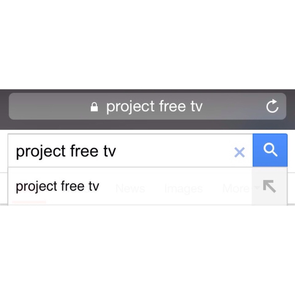 First way, Google project free tv. Click on the first link. Search the show you would like to watch.