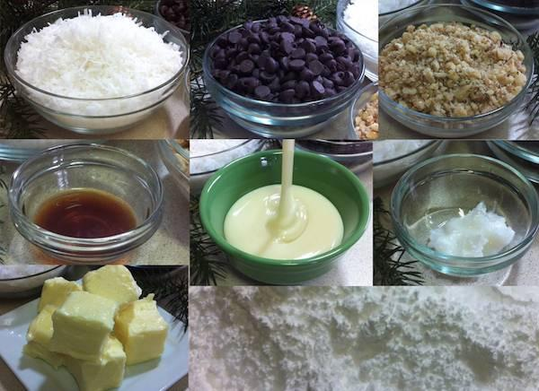 Full recipe : http://www.lyndaskitchen.com/recipes/homemade-coconut-bonbons/