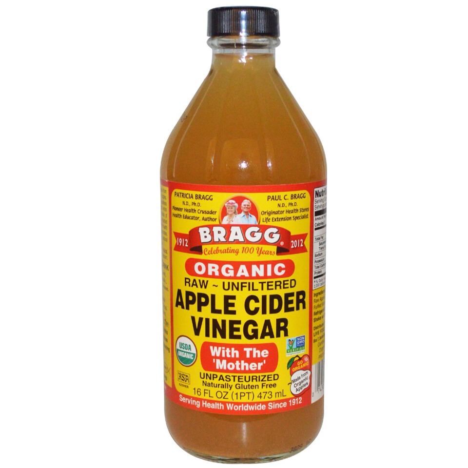 A high quality organic, unfiltered, raw apple cider vinegar increases your body's metabolic rate and is an amazing fat burner and very beneficial for weight loss