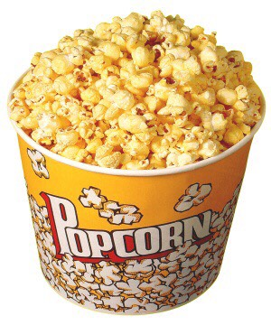 Who wants to watch a movie without popcorn! I don't!