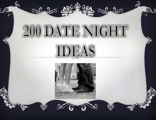 Double tap to see full image and keep scrolling to see different ideas for a date😊