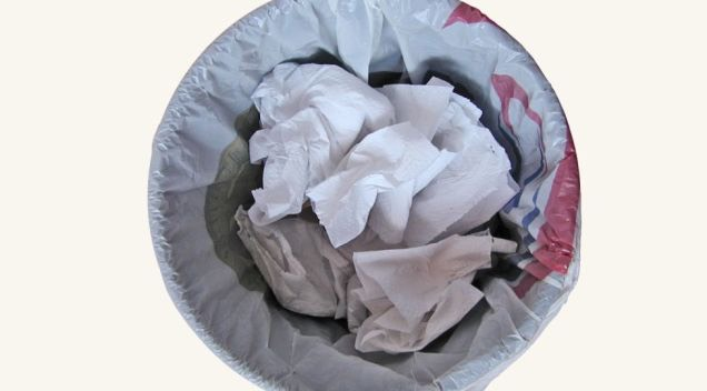 Not only do many dryer sheets contain chemicals, but the used sheet is just one more thing you have to throw away. Luckily, this is easy to avoid (and you won't even have to sacrifice soft laundry).
