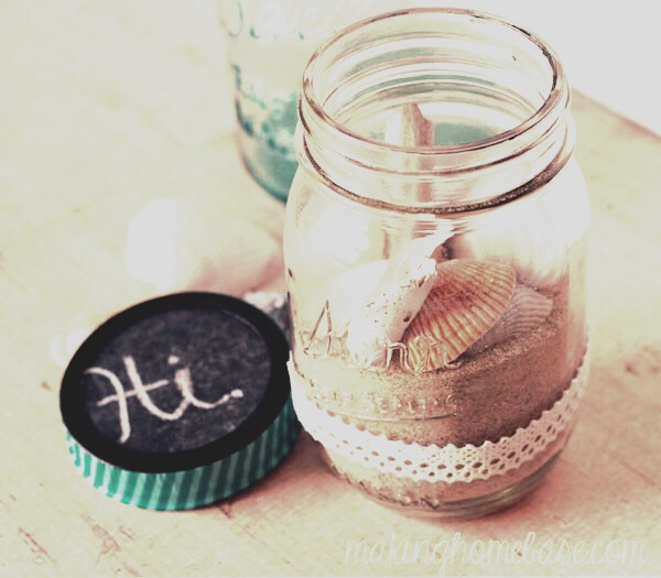 Beach in a jar🏄🏼🏄🏼🏄🏼- All you need for this Summer DIY is a mason jar, sand, blue marbles(to represent the ocean) and seashells. This DIY is perfect if you live in a state with no ocean and beaches☀️☀️☀️