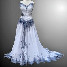 Musely - Corpse Bride Inspired Wedding Dress