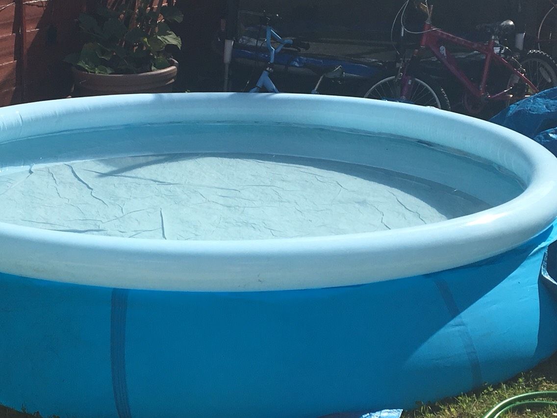 Go to your local swimming pool or set the paddling pool outside and cool yourself down if the weather allows you to. It getting quite hot over in Britain!🌞