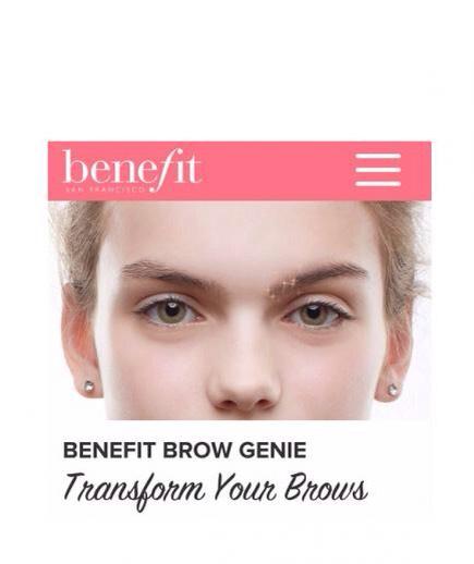 Benefit Brow Genie (free).
