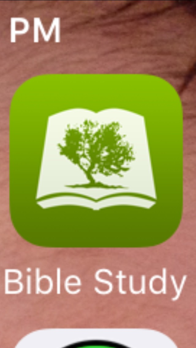Olive Tree If you go to church like me and have Youth Group, but you always forget your bible, this app is nice to have.