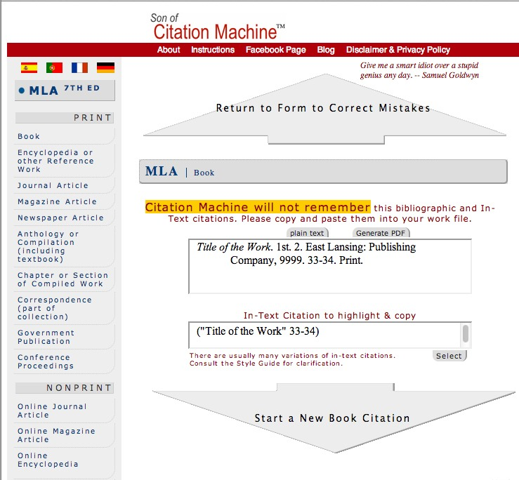 turabian citation machine
