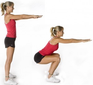 200 squats ! Break them up ( 50 reps,4 sets )