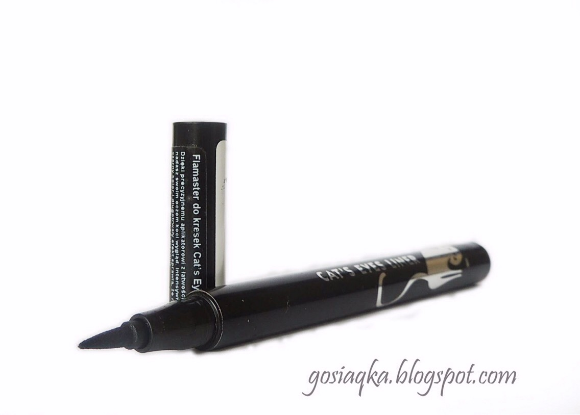 This eyeliner is so easy to use. Just take the lid of and apply, it's also very cheap.