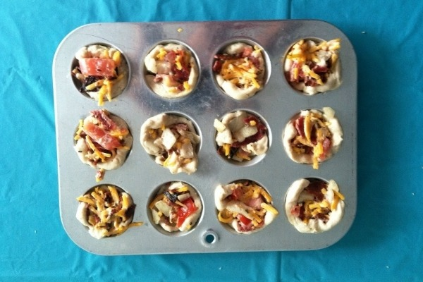 6. BACON AND TOMATO CUPS