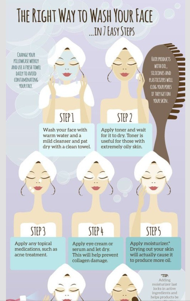 How To Clean Your Face Properly