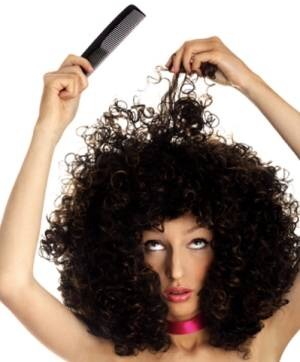 We all know it's a nightmare trying to comb our treasured tresses! Follow these quick steps to prevent damage....!!!!