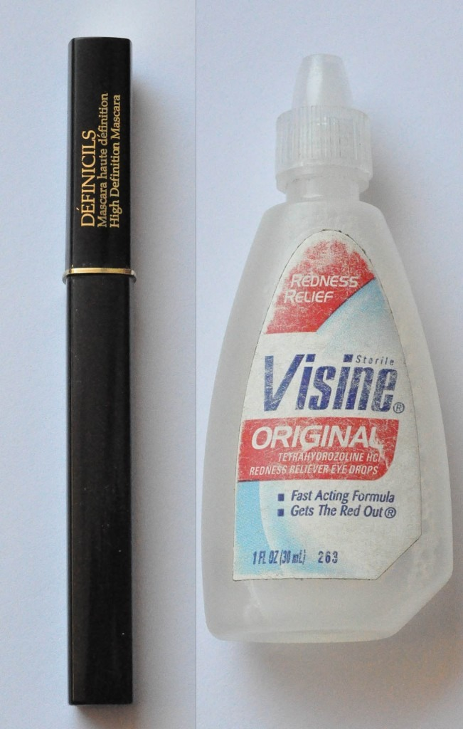 Add some Visine into the bottle of your mascara, this will make your mascara last longer and definitely save you money!