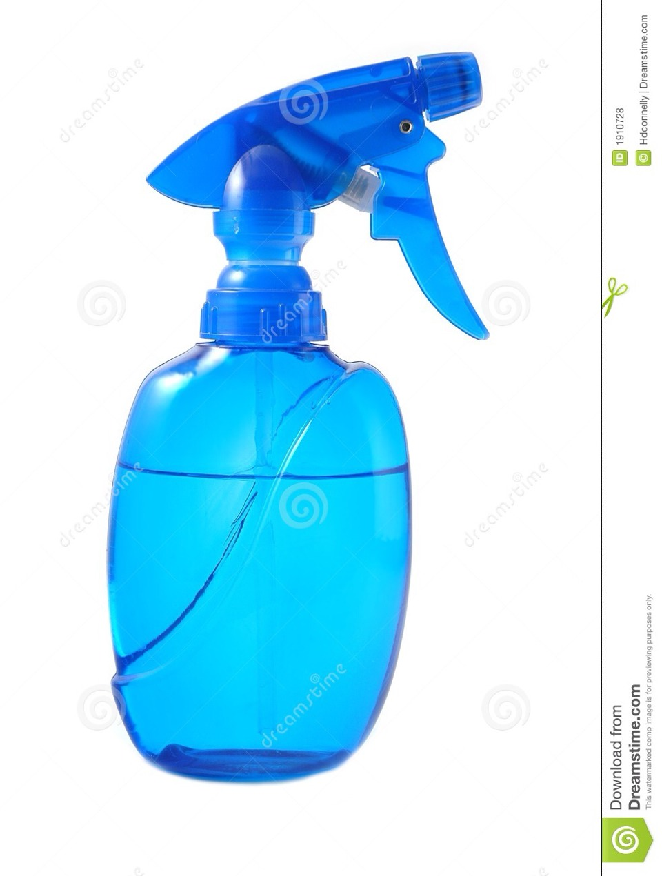 add water into spray bottle and put 3 biotin pills into it . shake well until a of the pills are dissolved .