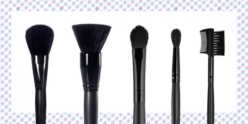 5. A set of makeup brushes.