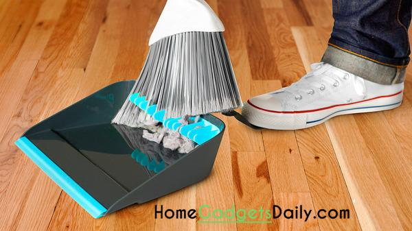 Broom Cleaning Dustpan Link: http://homegadgetsdaily.com/great-broom-cleaning-dustpan/