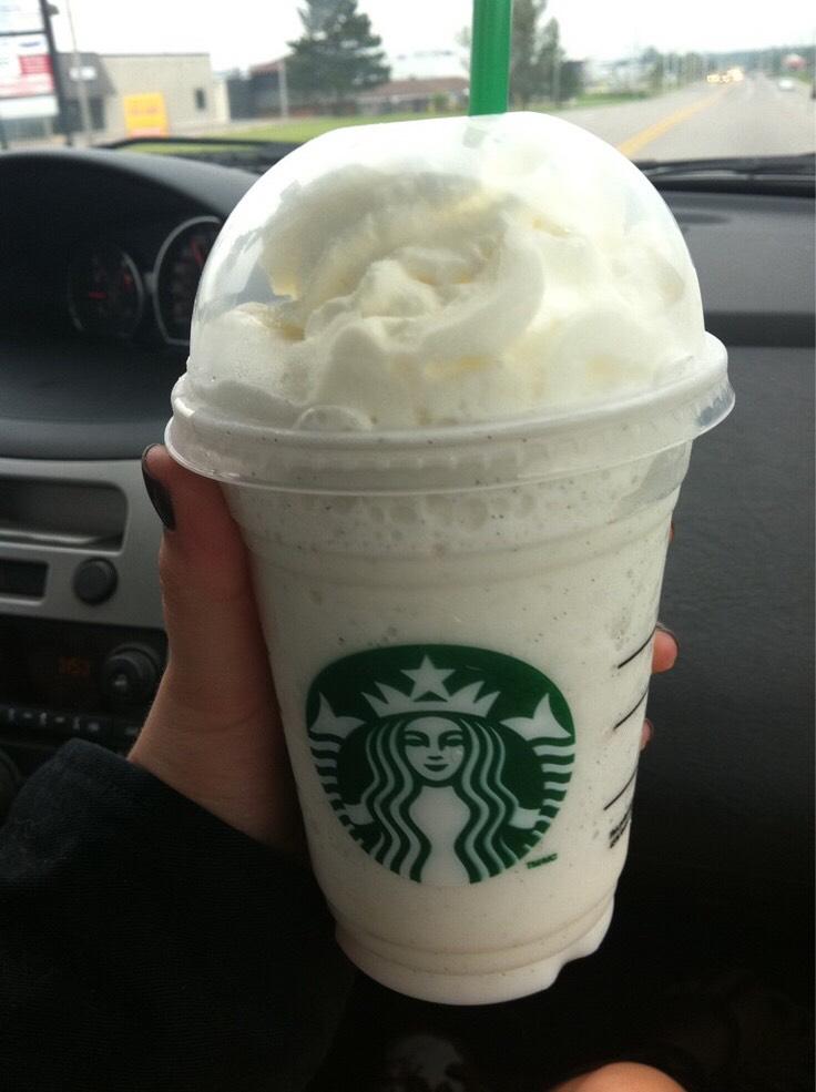 Starbucks Vanilla Frap