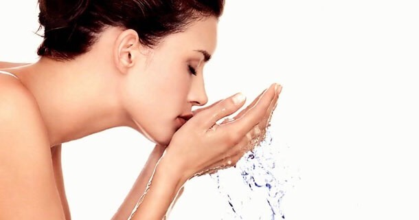 Wash your face depending on your skin type oily to combination skin - twice a day and normal to dry skin and sensitive skin - once a day (morning or night). Start with an exfoliater to take off any dead skin cells of. Then go in with a face wash that's specially made for your skin type.