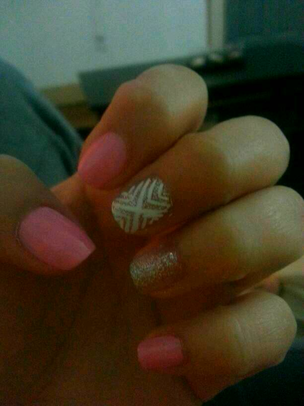 Did these myself ♡