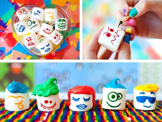 13. Funny Marshmallow People