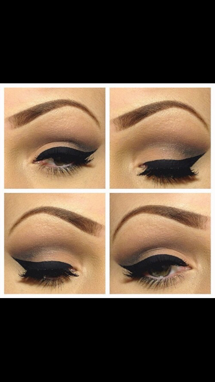 Make thinner eyeliner for a more everyday look