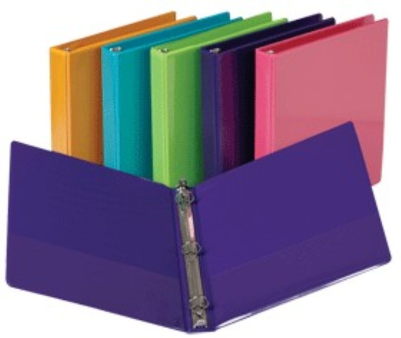 IMPORTANT TO HAVE ENOUGH BINDERS FOR EACH CLASS IF NEEDED