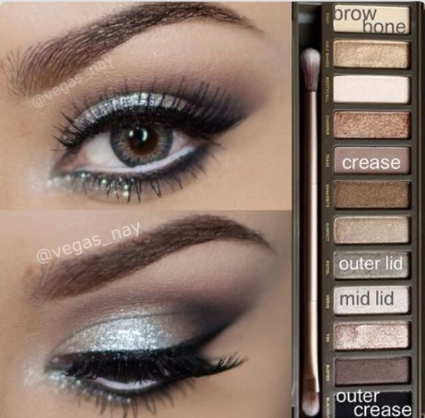 Look #3: Begin by applying Verve to your mid lid. then, apply Tease to your crease and Pistol to your outer lid.  Blackout will go on the outer crease, and finish up by highlighting with Foxy along the brow bone.