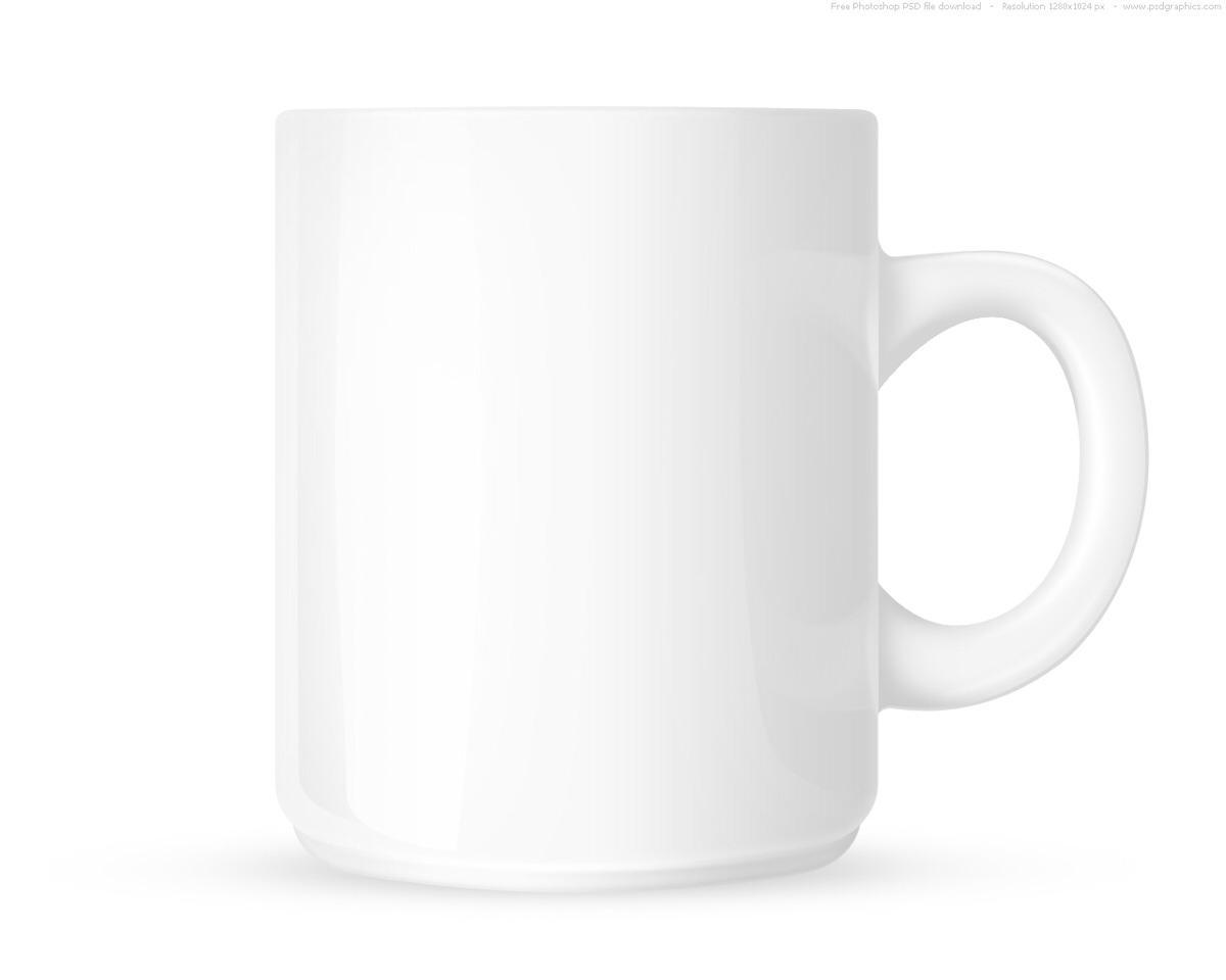 Get a white mug and draw any design you desire on the mug...