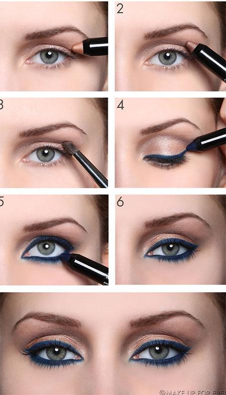 A few easy eye shadow looks
