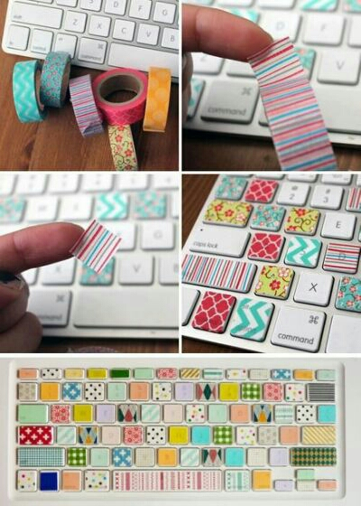 Here are 8 Washi Tape Ideas