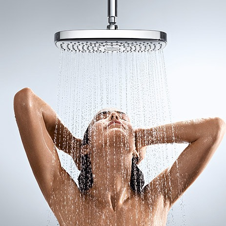 First you will need to get your hair wet in the shower and wash your hair with shampoo and conditioner.